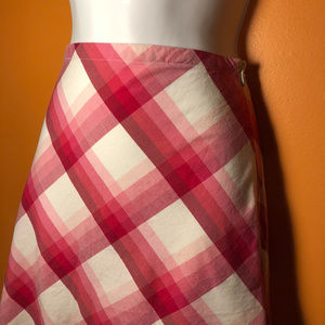 Mossimo Supply Co. Skirts - Summer skirt, with stretch, A-line, plaid